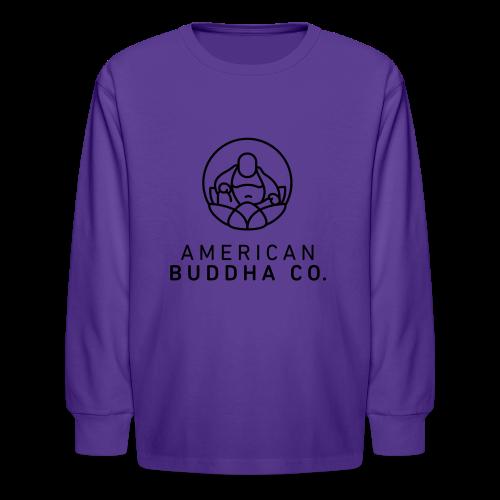 AMERICAN BUDDHA CO. ORIGINAL - Kids' Long Sleeve T-Shirt