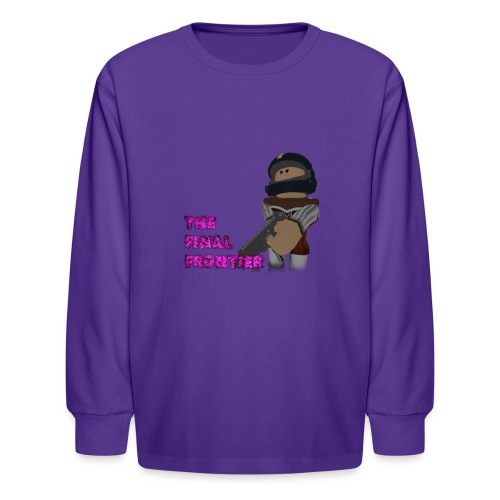The Final Frontier - Kids' Long Sleeve T-Shirt