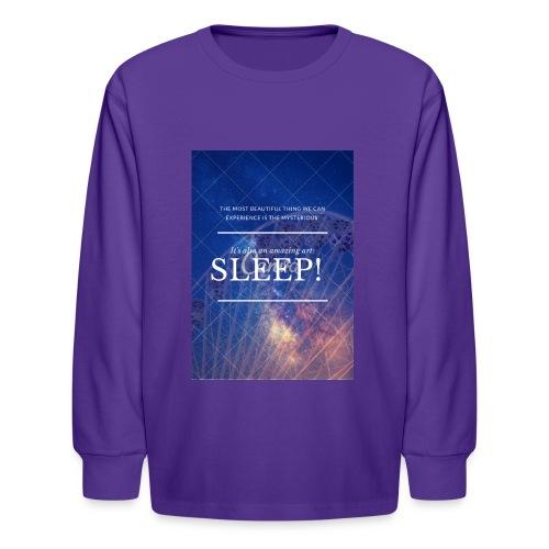 Sleep Galaxy by @lovesaccessories - Kids' Long Sleeve T-Shirt