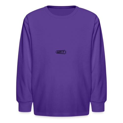 Live It V1 - Kids' Long Sleeve T-Shirt