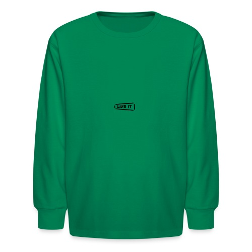 Live It V1 - Kids' Long Sleeve T-Shirt