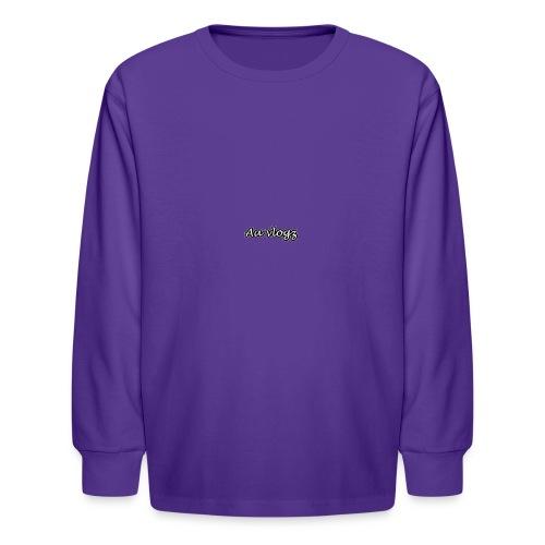 double a vlogz - Kids' Long Sleeve T-Shirt