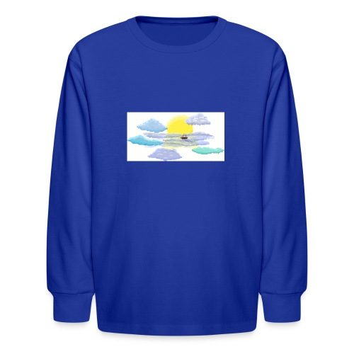 Sea of Clouds - Kids' Long Sleeve T-Shirt