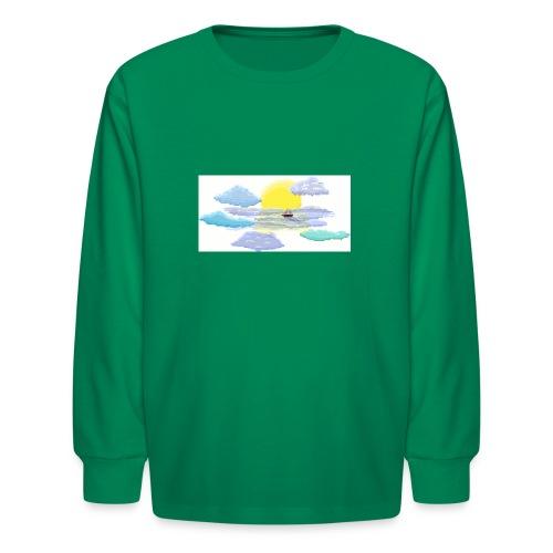Sea of Clouds - Kids' Long Sleeve T-Shirt
