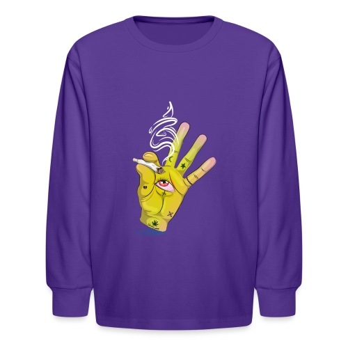 Khalwi High Khamsa - Kids' Long Sleeve T-Shirt