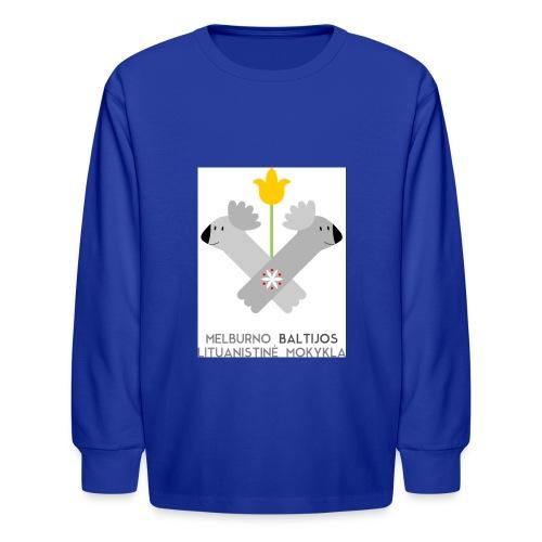 logo for tshirts 3copy - Kids' Long Sleeve T-Shirt
