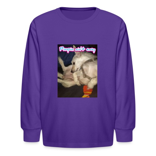Pimpin ain't easy - Kids' Long Sleeve T-Shirt