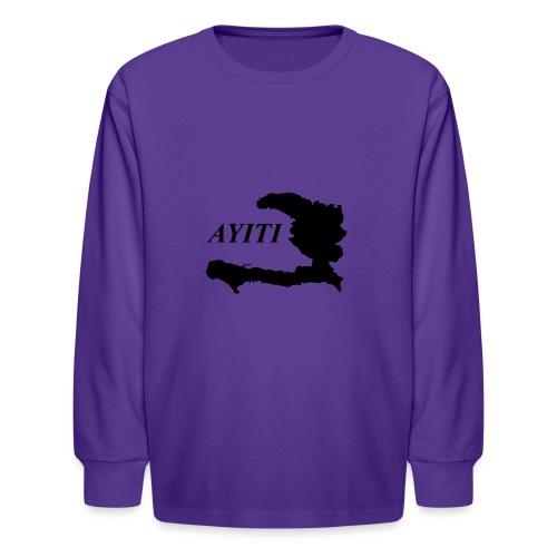 Hispaniola - Kids' Long Sleeve T-Shirt