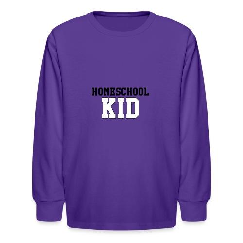 homeschoolkid - Kids' Long Sleeve T-Shirt