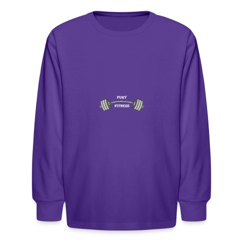 Fury Fitness - Kids' Long Sleeve T-Shirt