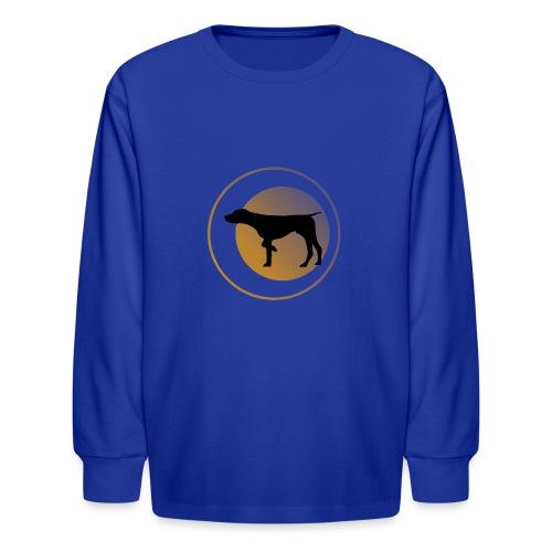 German Shorthaired Pointer - Kids' Long Sleeve T-Shirt