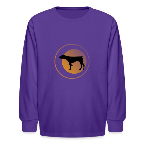 German Shorthaired Pointer - Kids' Long Sleeve T-Shirt