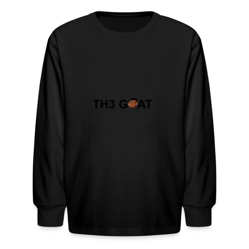 The goat cartoon - Kids' Long Sleeve T-Shirt