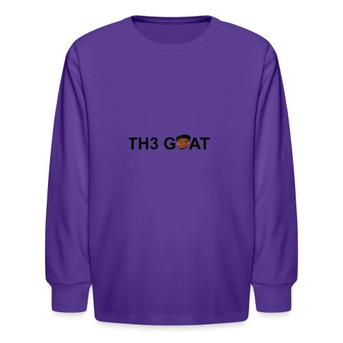 The goat cartoon - Kids' Long Sleeve T-Shirt