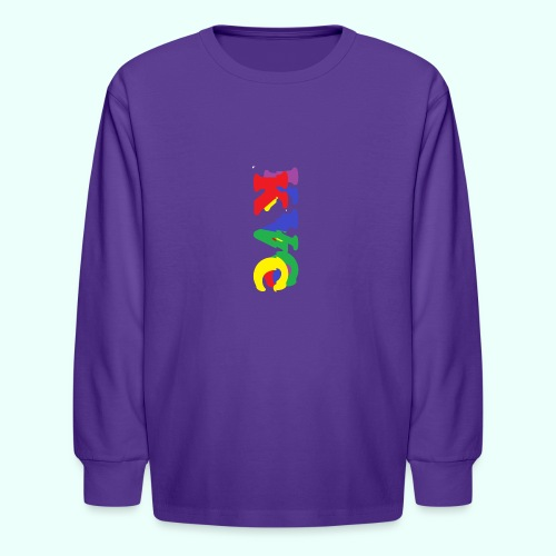 1 - Kids' Long Sleeve T-Shirt
