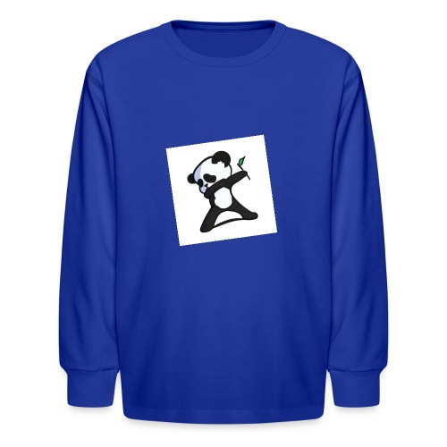 Panda DaB - Kids' Long Sleeve T-Shirt
