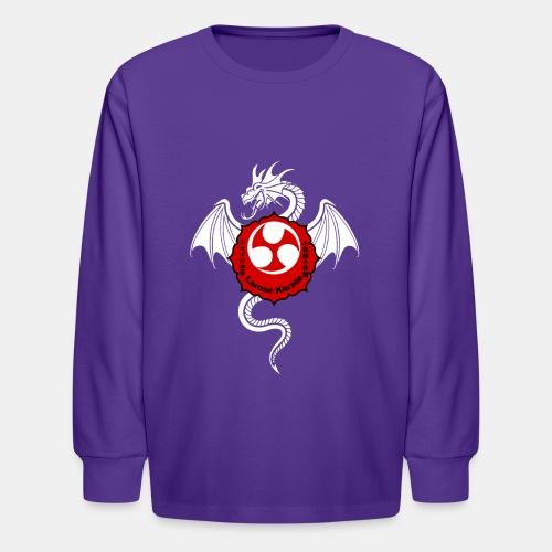 Dragon (W) - Larose Karate - Design Contest 2017 - Kids' Long Sleeve T-Shirt