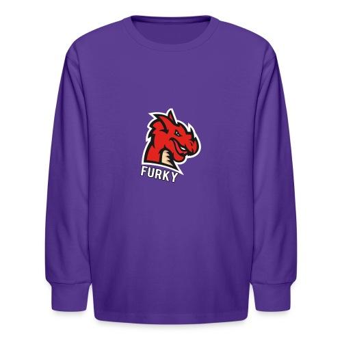 FurkyYT - Kids' Long Sleeve T-Shirt