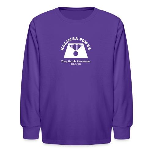 Kalimba Power Tony Harris Percussion w - Kids' Long Sleeve T-Shirt