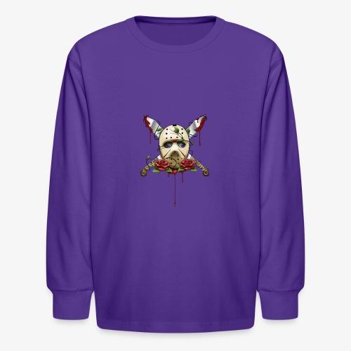 Exclusive Jason Vorhees Xay Papa edition Mask - Kids' Long Sleeve T-Shirt