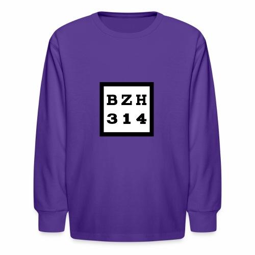 BZH314 Games Big Logo - Kids' Long Sleeve T-Shirt