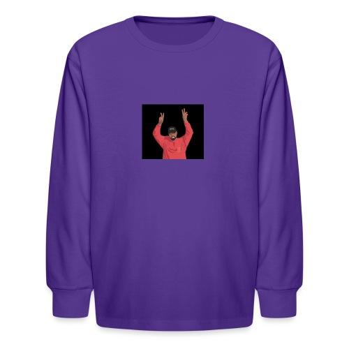 yeezus - Kids' Long Sleeve T-Shirt