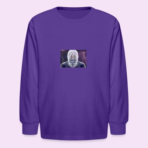 Brain storm - Kids' Long Sleeve T-Shirt