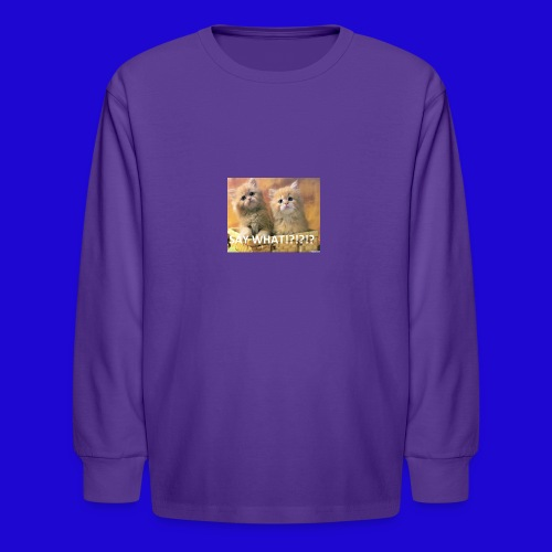 Cute Cats - Kids' Long Sleeve T-Shirt