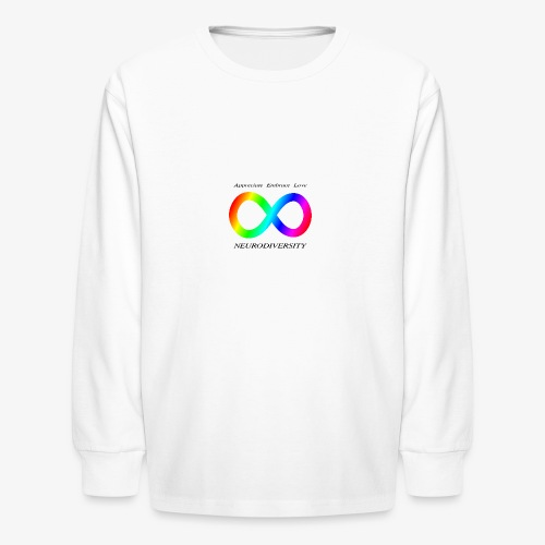 Embrace Neurodiversity - Kids' Long Sleeve T-Shirt