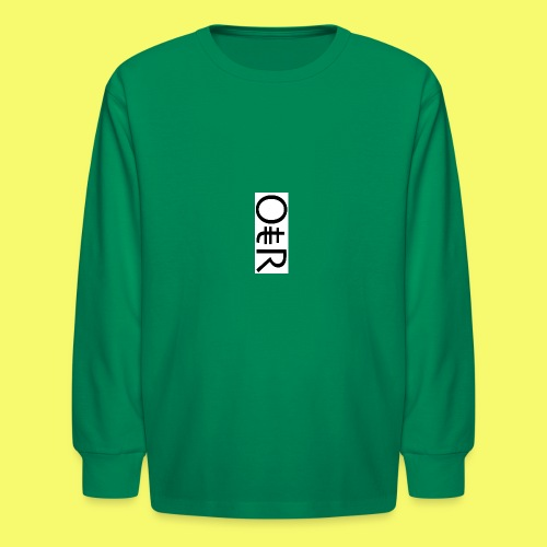 OntheReal kiddos - Kids' Long Sleeve T-Shirt