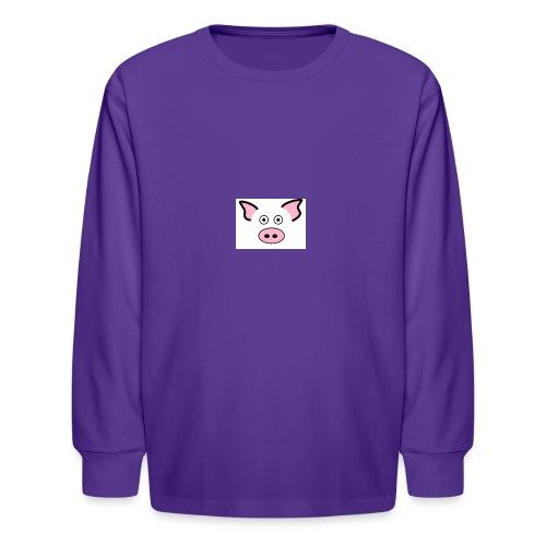pig - Kids' Long Sleeve T-Shirt