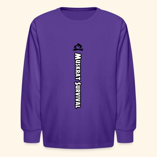 Muskrat Survival Tall - Kids' Long Sleeve T-Shirt