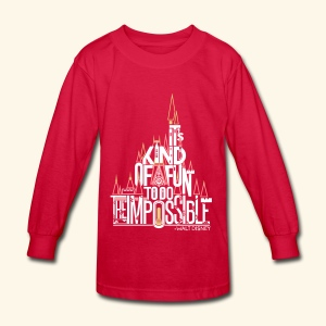 The Impossible - Kids' Long Sleeve T-Shirt