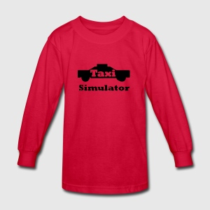 Taxi Simulator-In Real Life! - Kids' Long Sleeve T-Shirt