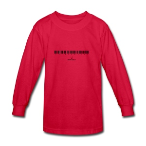 Barcode - Kids' Long Sleeve T-Shirt