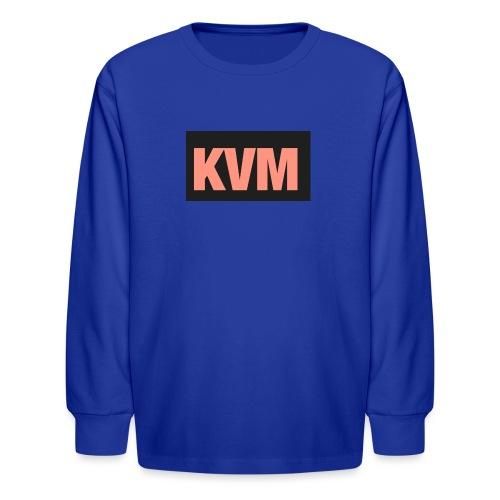 Kas vlogs m - Kids' Long Sleeve T-Shirt