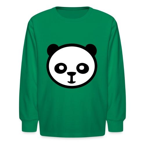 Panda bear, Big panda, Giant panda, Bamboo bear - Kids' Long Sleeve T-Shirt