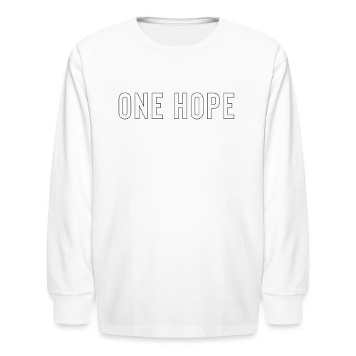 ONE HOPE - Kids' Long Sleeve T-Shirt