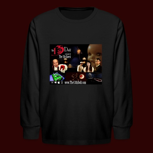 The 13th Doll Cast and Puzzles - Kids' Long Sleeve T-Shirt