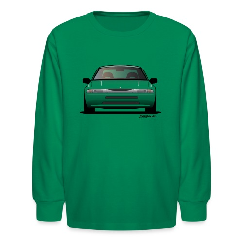 Subaru Alcyone SVX Modern JDM Icon Sticker - Kids' Long Sleeve T-Shirt