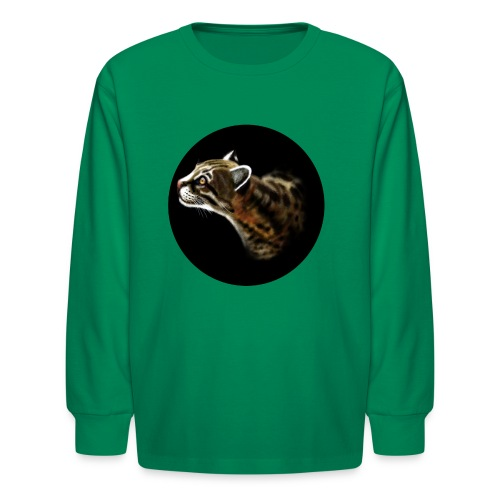 Ocelot - Kids' Long Sleeve T-Shirt
