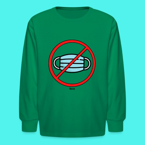 BMG- No Mask Collection - Kids' Long Sleeve T-Shirt