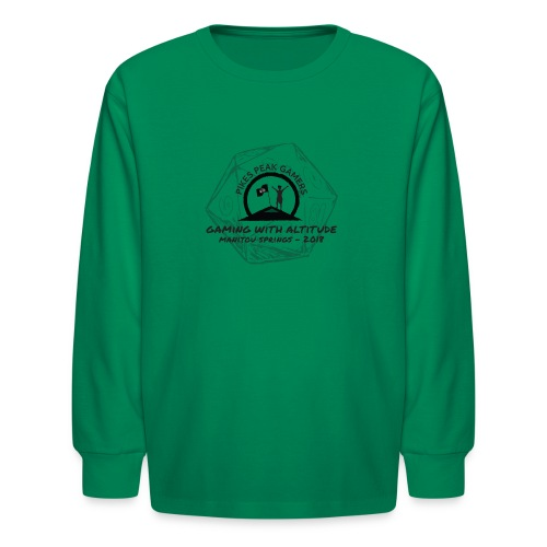 Pikes Peak Gamers Convention 2018 - Clothing - Kids' Long Sleeve T-Shirt