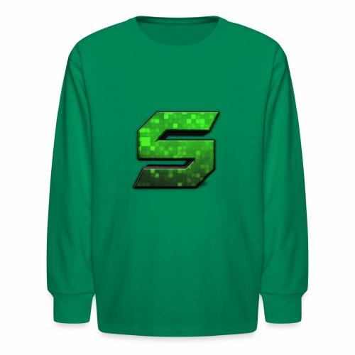 seans logo - Kids' Long Sleeve T-Shirt