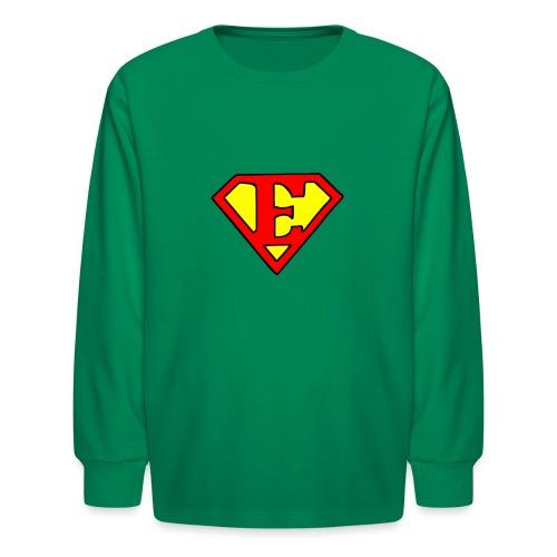 super E - Kids' Long Sleeve T-Shirt