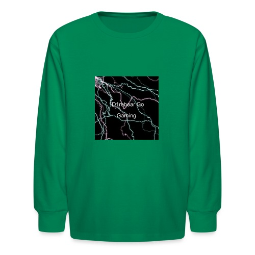 D1reboar Go YouTube Sticker - Kids' Long Sleeve T-Shirt