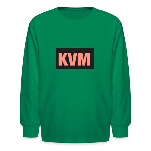 Kas vlogs m - Kids' Long Sleeve T-Shirt