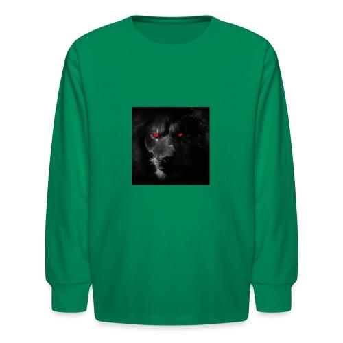 Black ye - Kids' Long Sleeve T-Shirt