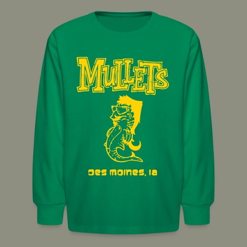 Mullets Color Series - Kids' Long Sleeve T-Shirt