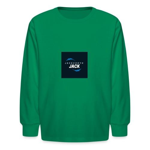 JackCodyH blue lightning bolt - Kids' Long Sleeve T-Shirt